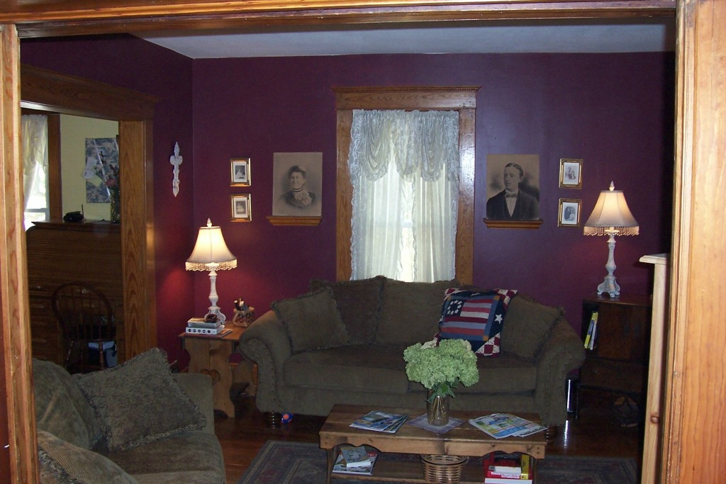 living room from hallway