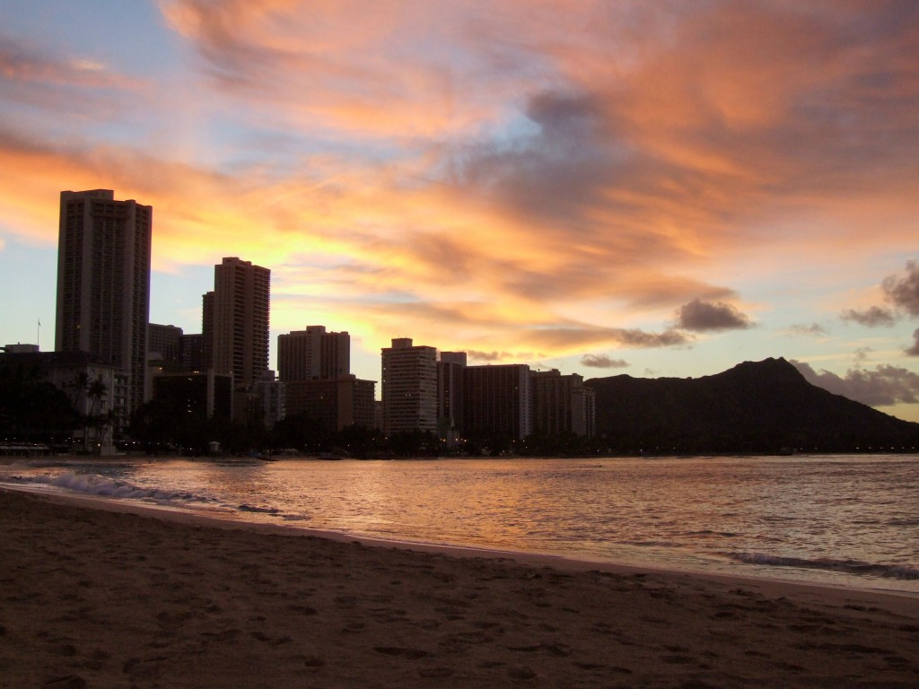 Copy of sunrise in waikiki copy